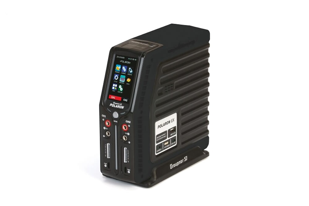 Graupner Polaron EX 800W 7S 3 Color and Touch TFT (Black)