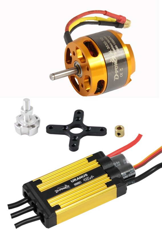 D-Power Brushless Set AL3530-10 & 45A URANUS Regler