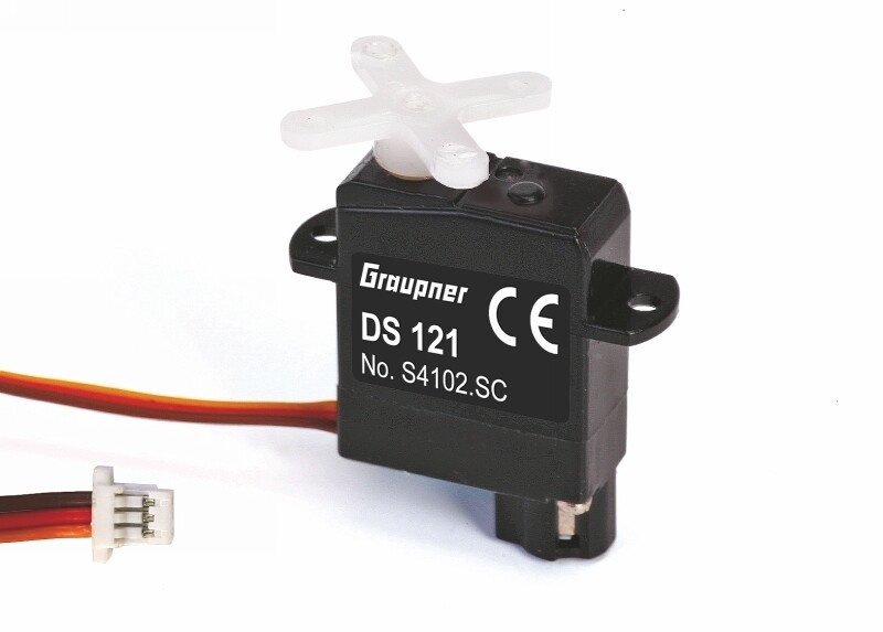 Graupner DS 121SC Parkflyer 6.2mm Digital Servo SC Connector