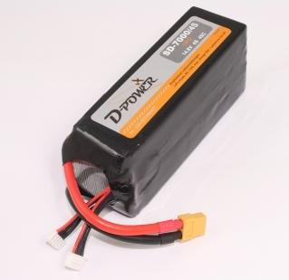 D-Power SD-7000 4S Lipo (14,8V) 45C - XT-60 Stecker