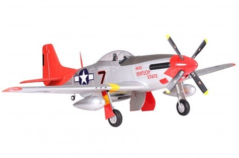 FMS P-51 Mustang Red Tail PNP - 170 cm