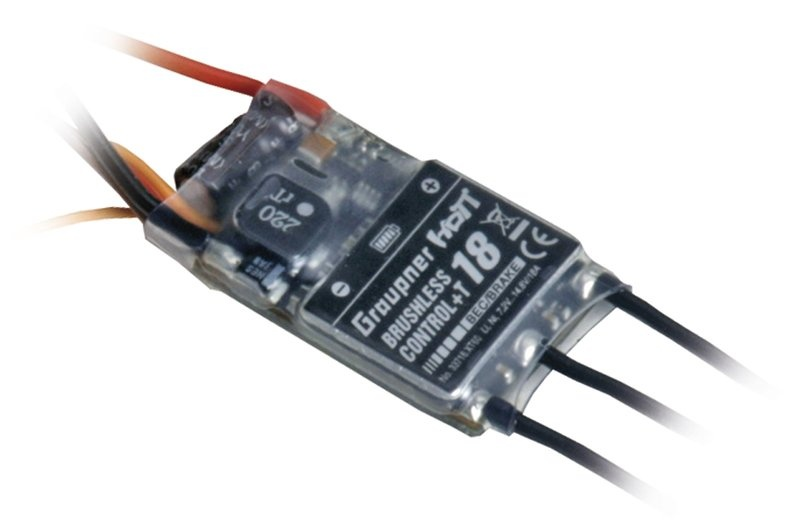 Graupner BRUSHLESS CONTROL+ T18 BEC
