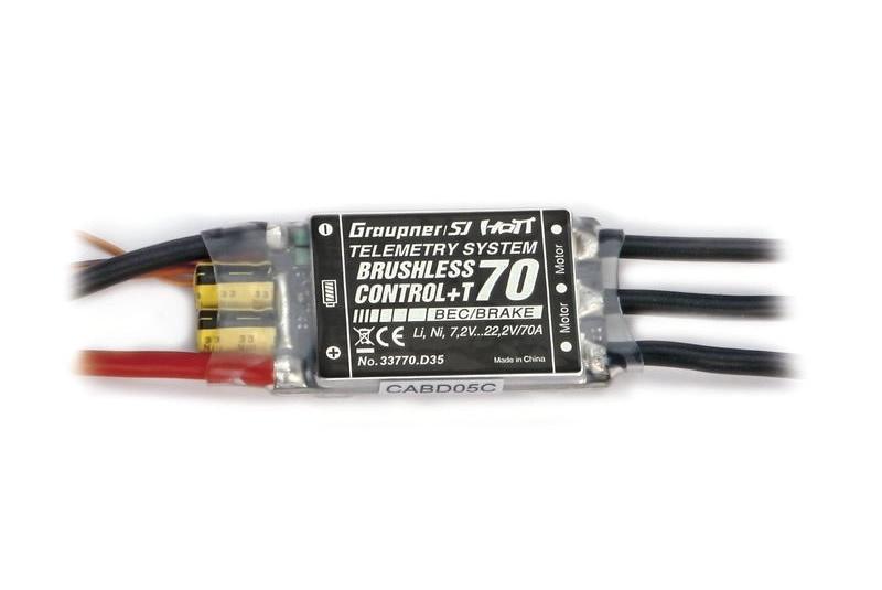 Graupner BRUSHLESS CONTROL+ T70 BEC