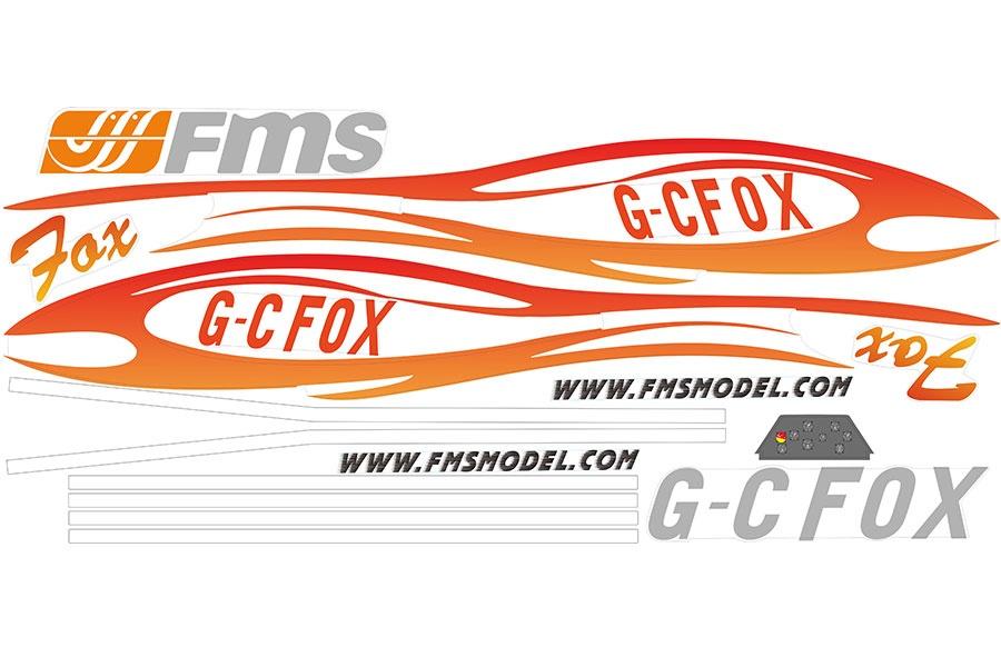 FMS FOX V2 232cm - Dekorbogen