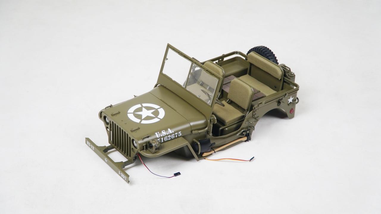MB Scaler 1:6 - Karosserie komplett montiert