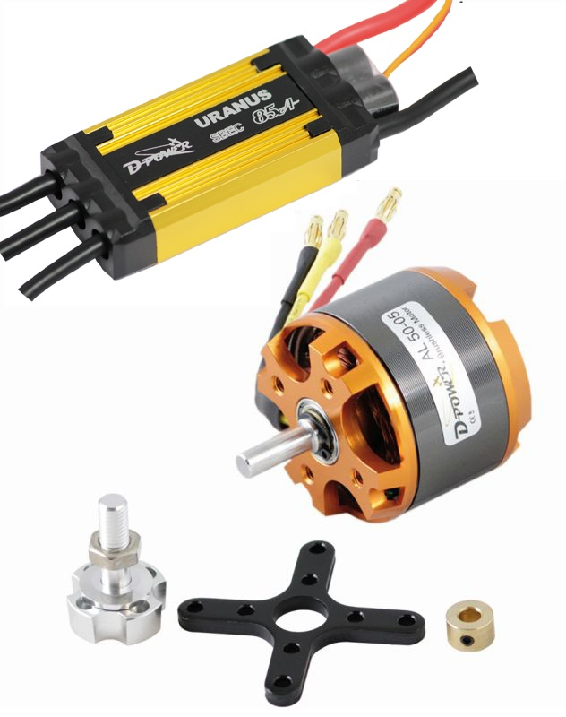 D-Power Brushless Set AL50-05 & 85A URANUS Regler