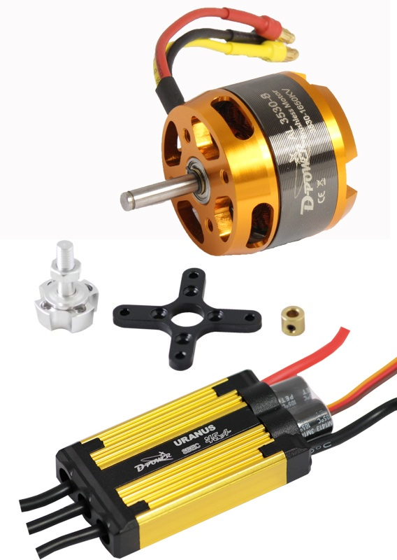 D-Power Brushless Set AL3530-8 & 45A URANUS Regler